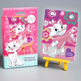 Алмазная мозаика для детей 'Самая милая!' Коты аристократы + емкость, стерж, клеев подуш Ош
