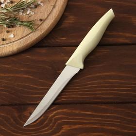 Нож 'Суфле', лезвие 12 см, цвет бежевый Ош