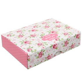 Коробка для хранения «Самый лучший день», 21 х 15 х 5 см Ош