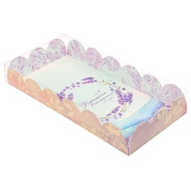 Коробка для печенья 'Хорошего настроения', 12 х21 х3 см Ош