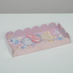 Коробка для печенья 'Яркие сладости', 12 х21 х3 см Ош