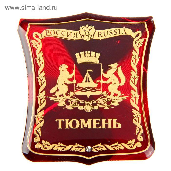 """Магнит герб """"Тюмень"""""""