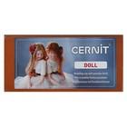 Полимерная глина запекаемая для изготовления кукол, Cernit Doll, 500 г, карамельная, №807