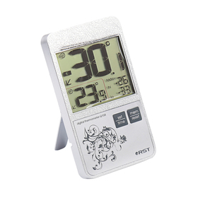 Термометр RST 02158, цифровой, в стиле iPhone , дом/улица, серый Ош