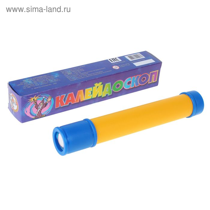 "Игрушка ""Калейдоскоп"" синяя коробка"