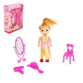 Кукла  малышка 'Кира' с аксессуарами цвета:МИКС Ош