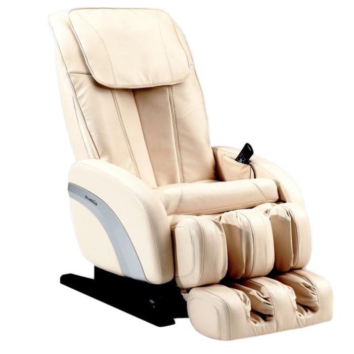 Массажное кресло GESS-180 Comfort, 3 программы автом., 2 роликовых массажа, бежевое