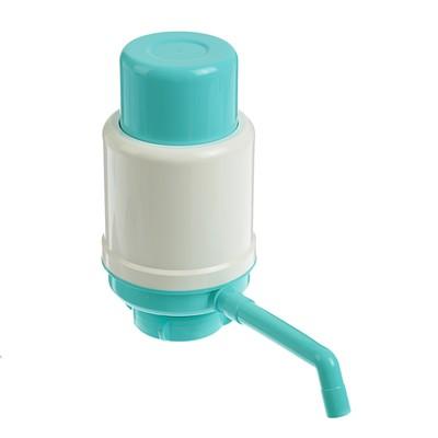 Помпа для воды Дельфин Эко, под бутыль от 12 до 19 л, бирюзовый