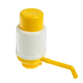 Помпа для воды Дельфин Эко, под бутыль от 12 до 19 л, желтый Ош