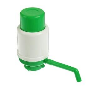 Помпа для воды Дельфин Эко, под бутыль от 12 до 19 л, зеленый Ош