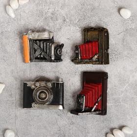 Магнит полистоун 'Ретрофотоаппарат' МИКС 6,5х5,5 см Ош