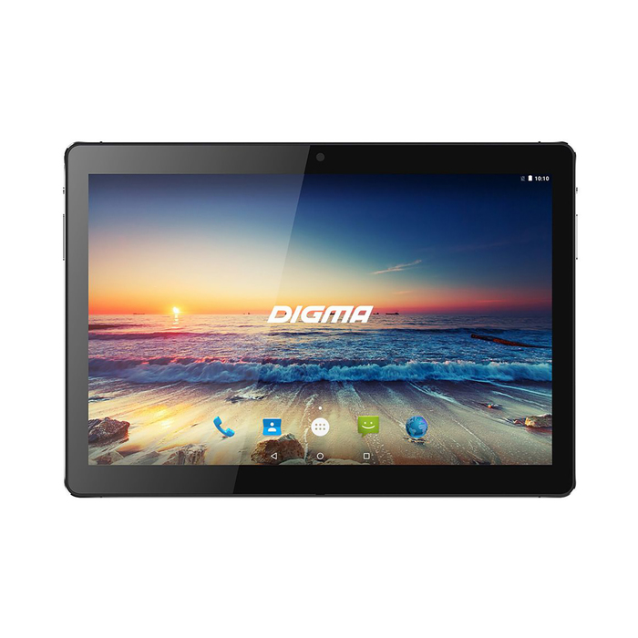 "Планшет Digma Plane 1538E LTE Black 10.1"" IPS,1920x1200,2Gb+32Gb,5Mp,GPS,черный"