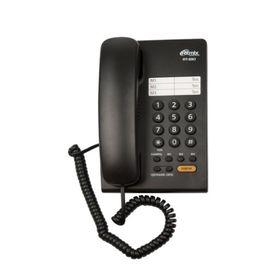 Телефон Ritmix RT-330, черный Ош