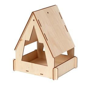 Кормушка для птиц, 22х17х17см Ош