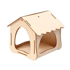 Кормушка для птиц, 19х18,5х18см Ош