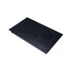 Плита Gemlux GL-IP3400, индукционная, 2 зоны (2200, 2200 Вт), 8 уровней температуры, таймер   357326