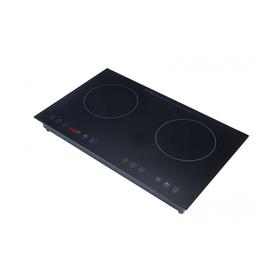 Плита Gemlux GL-IP3400, индукционная, 2 зоны (2200, 2200 Вт), 8 уровней температуры, таймер   357326 Ош