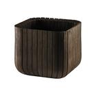 Кашпо Wood Planter L (куб)