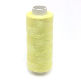 Нитка PL 40/2 400 ярд, №105 К09, цвет светло-желтый Ош