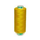 Нитка PL 40/2 400 ярд, №112 К09, цвет ярко-желтый