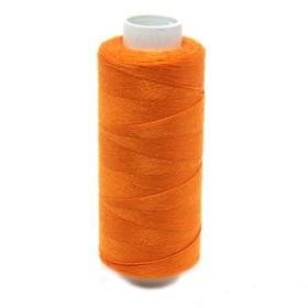 Нитка PL 40/2 400 ярд, №114 К09, цвет оранжевый Ош