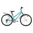 """Велосипед 26"""" Foxx Bianka, 2018, цвет зеленый/белый, размер 15"""""""