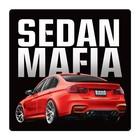 "Наклейка на автомобиль ""Sedan mafia"", 140 х 140 мм"