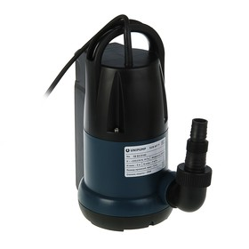 Насос дренажный UNIPUMP SUB 407 P, 400 Вт, 118 л/мин, напор 8 м Ош