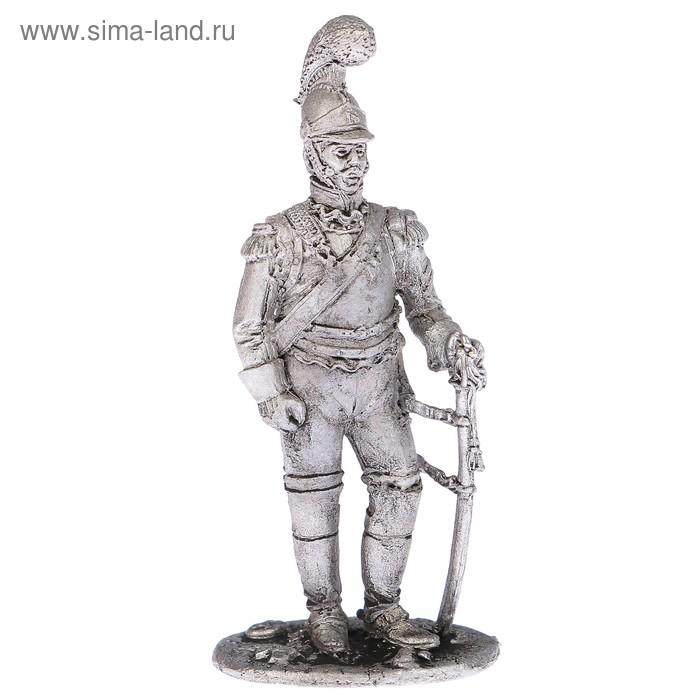 """Оловянный солдатик """"Рядовой карабинерного полка, 1812 г"""""""