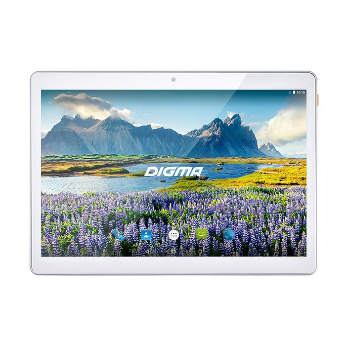 "Планшет Digma Plane 9634 3G White 9,6"" IPS,1280x800,2Gb+32Gb,2Mp+0,3Mp,GPS,7.0, белый"