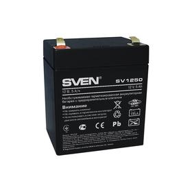 Батарея аккумуляторная SVEN SV 1250 (12V 5Ah) SV-0222005, 12В Ош