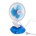Вентилятор Energy EN-0601, 15 Вт, настольный/прищепка, 2 скорости