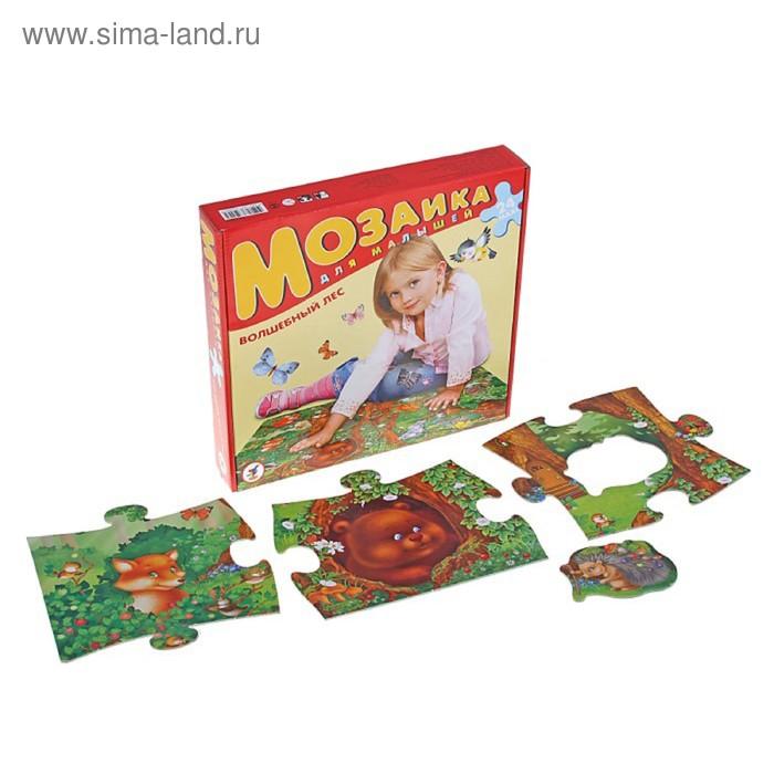 """Пазл-мозаика для малышей """"Волшебный лес"""""""