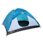 Палатка туристическая POLAR 4-х местная, цвет синий-айвори