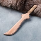 """Сувенир деревянный """"Нож боевой"""", массив бука, 30 см"""