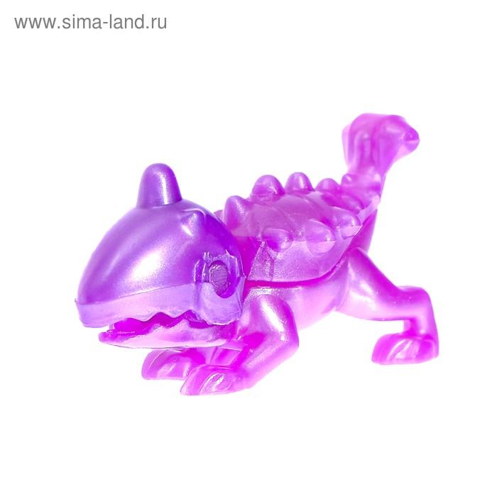 Конструктор «Динозавр», 4 детали, МИКС