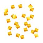 """Наполнитель для шара """"Конфетти квадраты"""" 1 см, фольга, цвет золотой, 500г"""