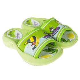 Пантолеты детские пляжные арт. BB6-42679  (Зеленый) (р. 24) Ош