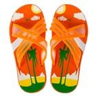 Сланцы детские пляжные арт. BC6-53819, цвет Оранжевый, размер 30