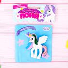 "Пони ""Камилла"" с набором наклеек, цвет белый, 10 х 12 см"