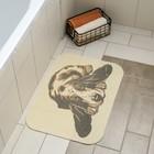 """Коврик для ванной """"Собака"""" 50х70 см"""