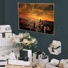 Постер А4 интерьерный «В центре мегаполиса», 29 х 21 см