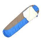 Спальный мешок кокон 400, 220х75, -20/0С, бязь/Taffeta 190, термофайбер, СК4