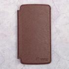 "Чехол-книжка ST Case Book 3,8"" (122х63), иск. кожа, Коричневый"