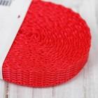 Стропа, ширина 10мм, 3,5м, цвет красный
