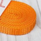 Стропа, ширина 10мм, 3,5м, цвет оранжевый