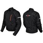 Куртка мотоциклетная, HIZER 514, текстиль, размер XL, черный