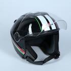 Шлем HIZER 217-2, размер M, черно/белый