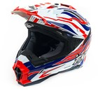 Шлем THH TX-25-1, размер M, бело/сине/красный