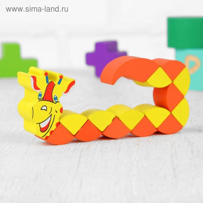 """Головоломка-змейка """"Жираф"""", малая"""